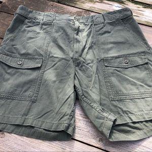 Army green Foundry Cargo shorts men's 48